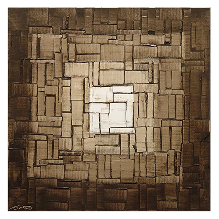 Wandbild Cubic Light – 100% handgemalt, WandbilderXXL online kaufen