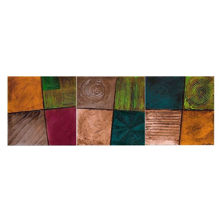 Wandbild Facets of Life – 100% handgemalt – Größe XXL: 80 x 260 cm, WandbilderXXL günstig