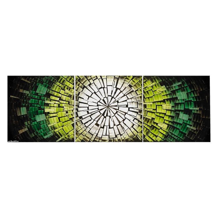 Wandbild Hoffnungsschimmer - 100% handgemalt, Wandbilder XXL