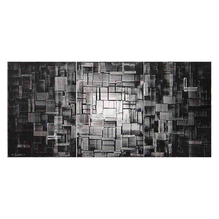 Wandbild Mondwürfel - 100% handgemalt, Wandbilder XXL
