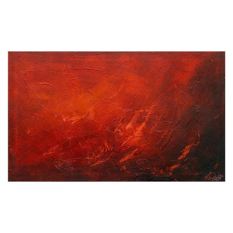Wandbild Red – 100% handgemalt, WandbilderXXL günstig online kaufen