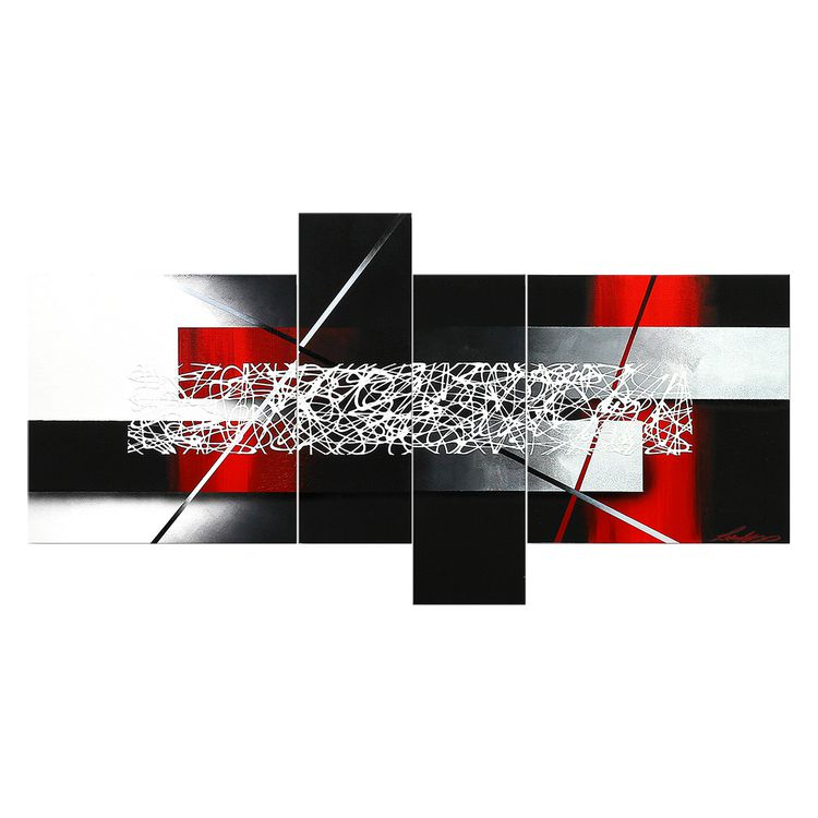 Wandbild Sudden – 100% handgemalt – Größe L: 80 x 180 cm, WandbilderXXL jetzt kaufen