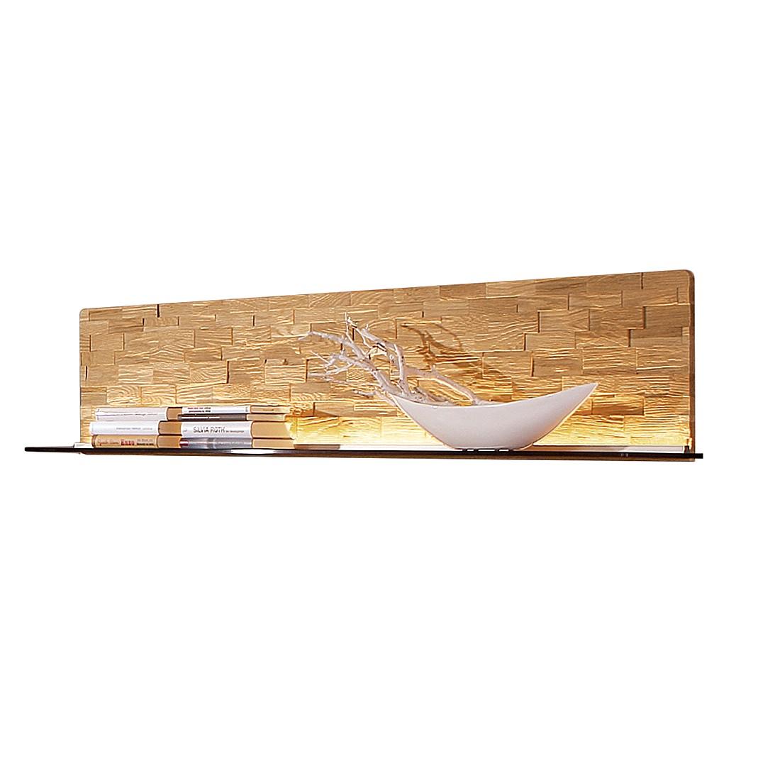 Wandboard Viva – Wildeiche massiv – Mit Beleuchtung – 168 cm, Hartmann günstig bestellen