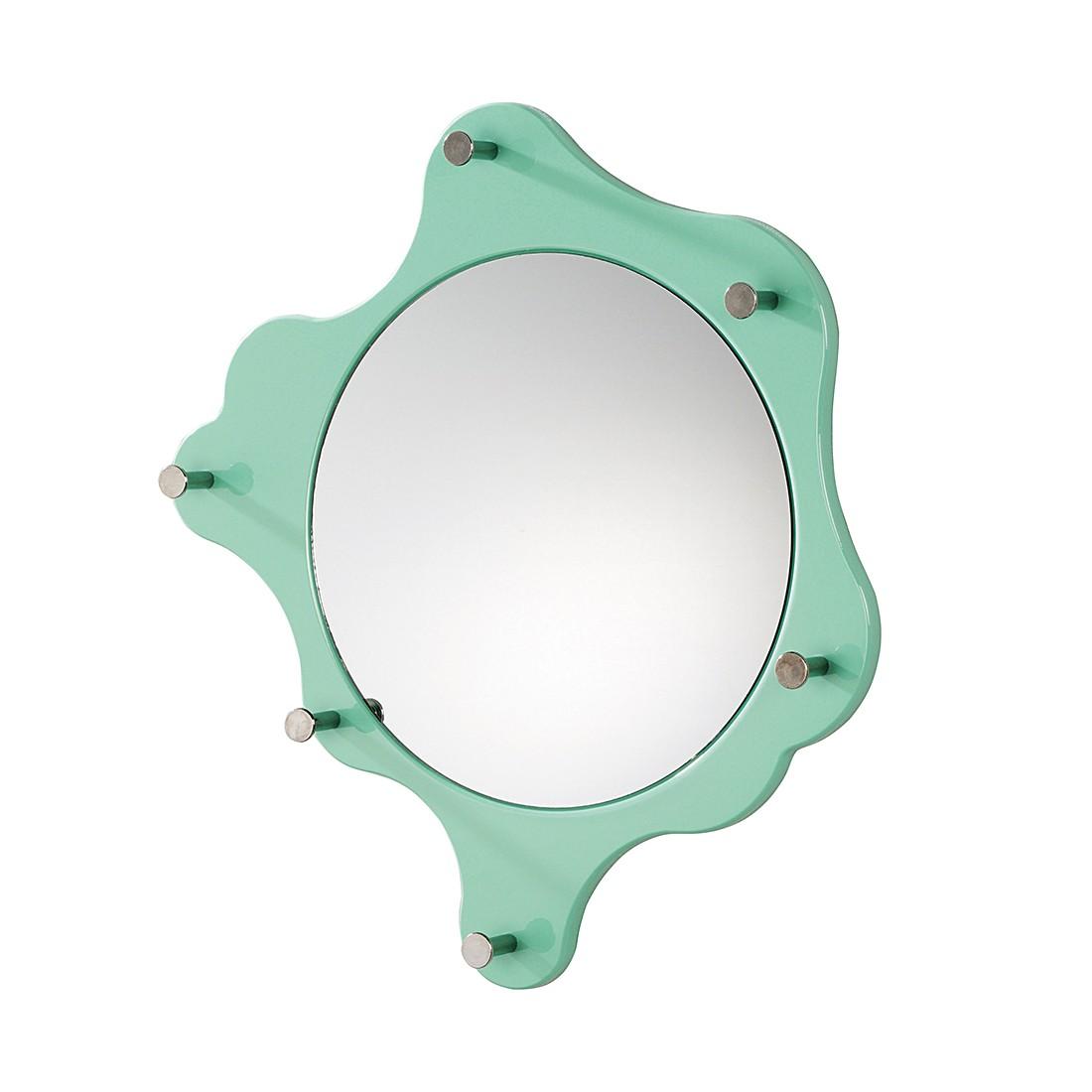 Wandgarderobe Bacillu – Hochglanz  Mintgrün, Home Design jetzt bestellen