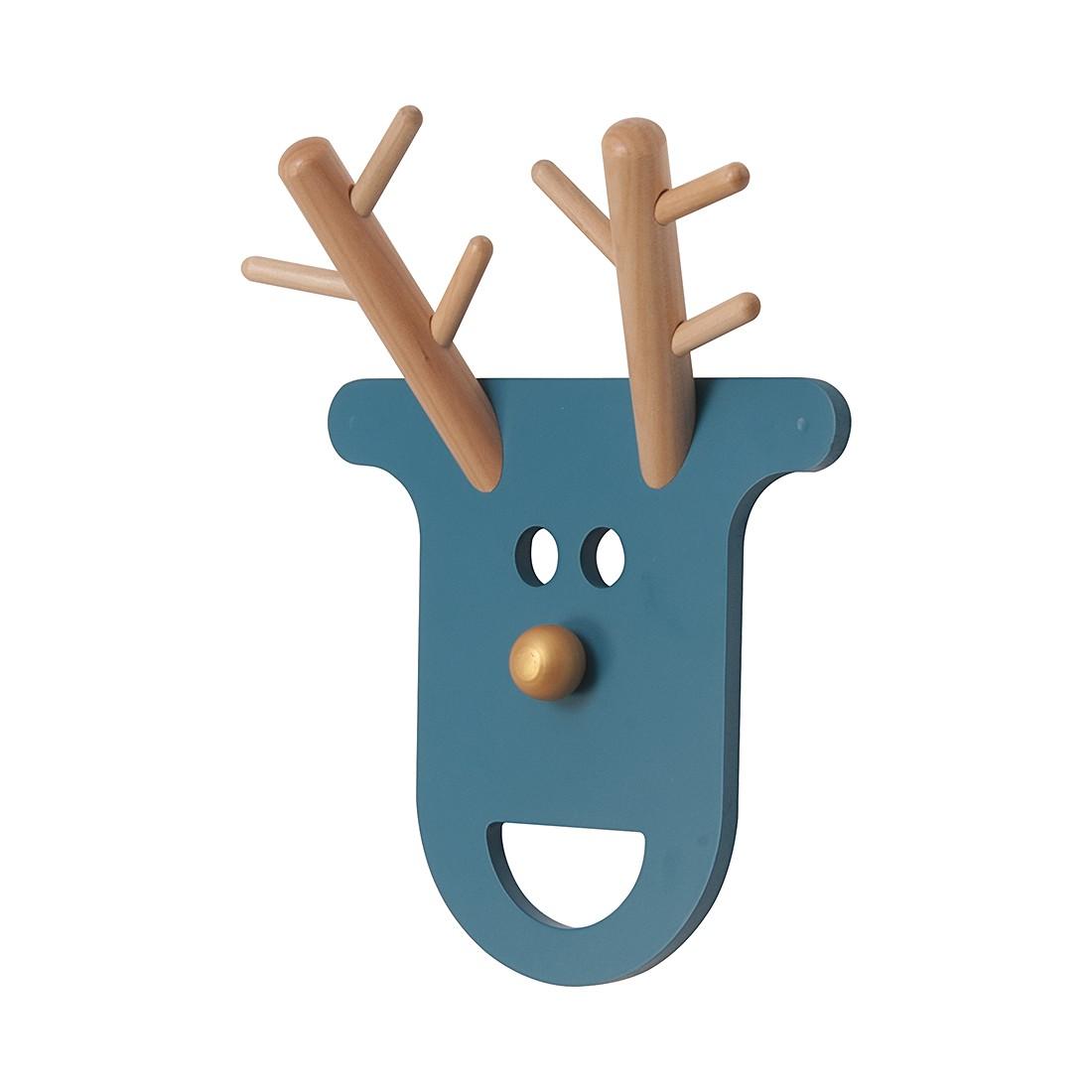Wandgarderobe O Deer – Petrol, JIP kaufen