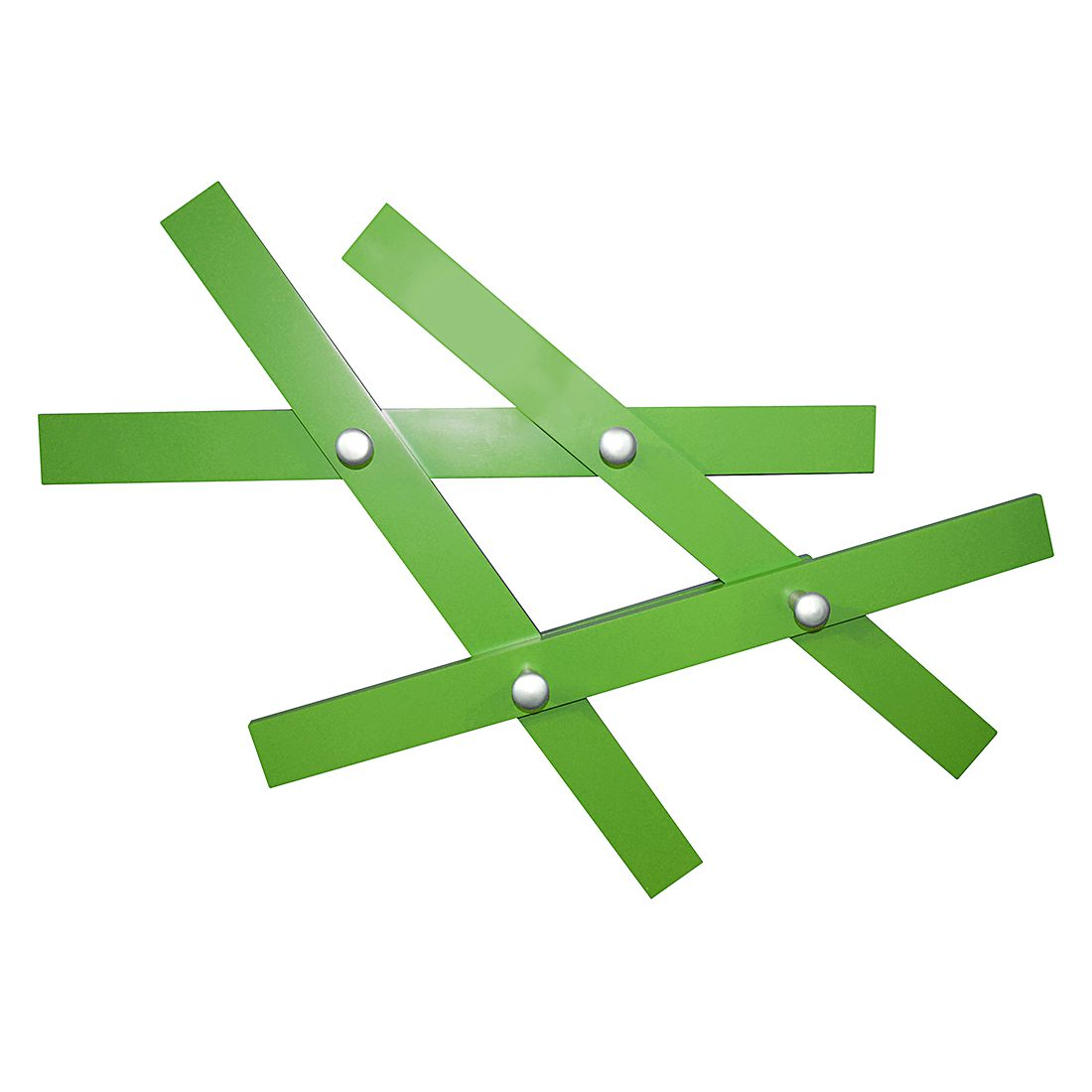 Wandgarderobe Patch – Grün, mooved günstig bestellen