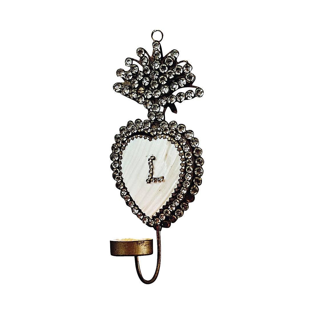 wandkerzenhalter palina eisen glas perlmutt antikgold loberon g nstig bestellen. Black Bedroom Furniture Sets. Home Design Ideas