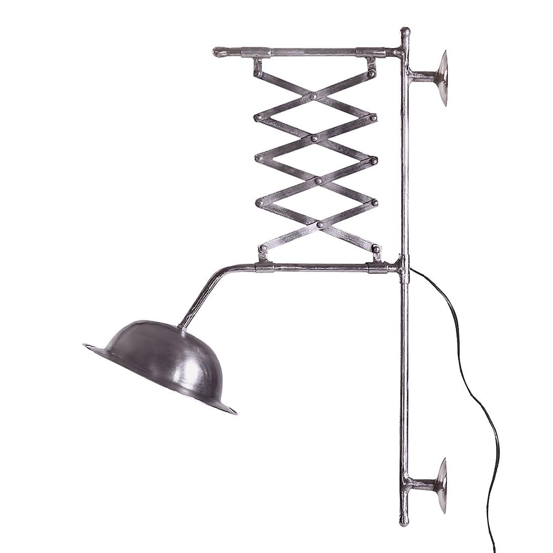 Wandlampe Vanha - Eisen - vernickelt - 1-flammig, furnlab