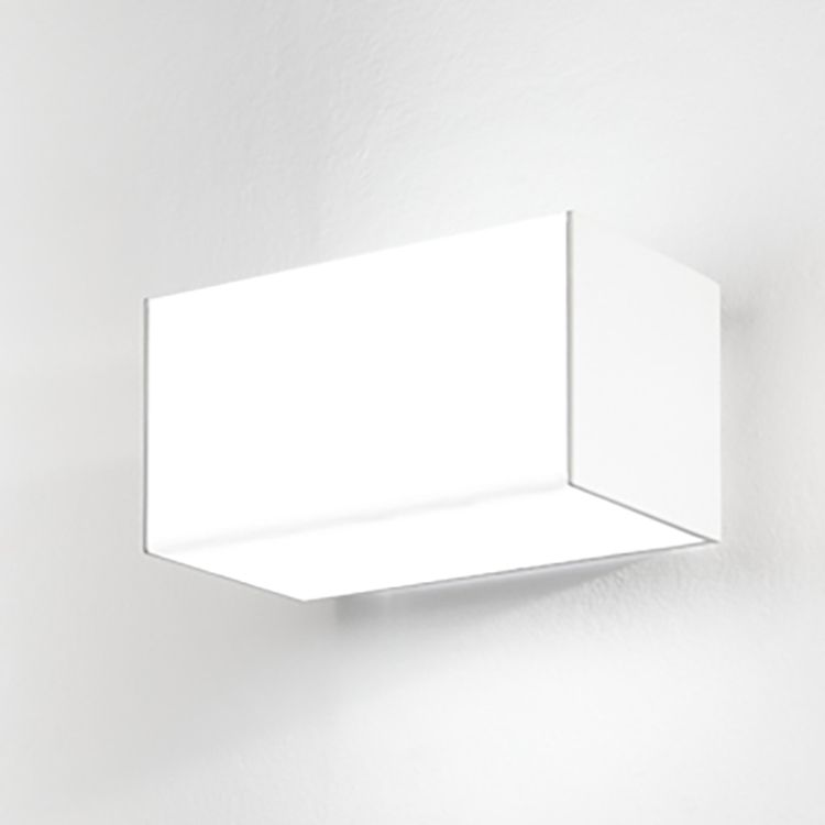 LED-Wandleuchte Alabama ● Aluminium ● Weiß- Lampadina A+
