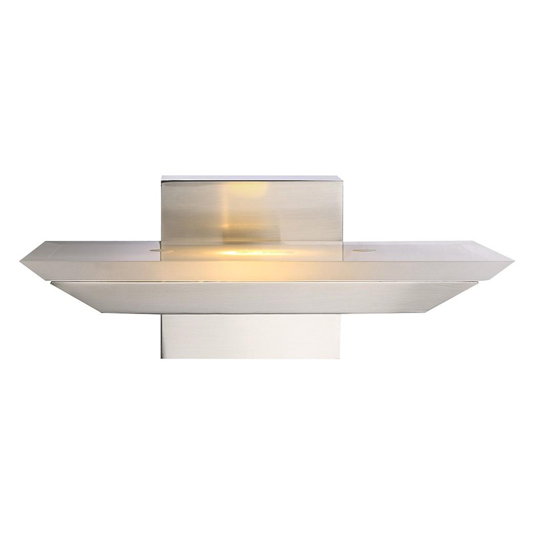 Wandleuchte AVARI – Metall – Silber – 1-flammig, Globo Lighting günstig bestellen