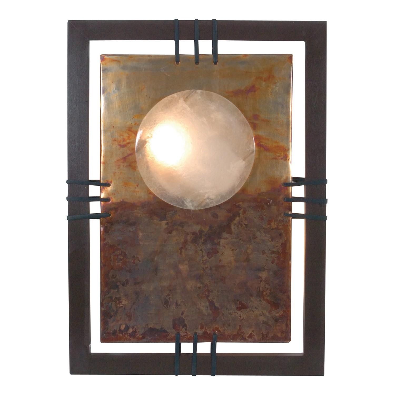 Wandleuchte Bankok ● Metall/Holz ● Beige ● 2-flammig- Näve A++