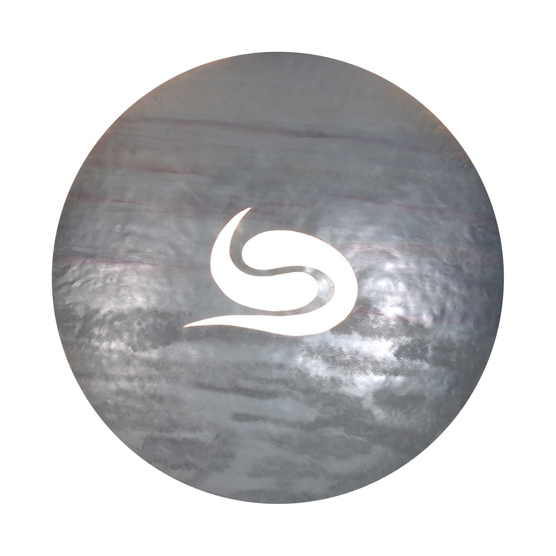 Wandleuchte Bankok ● Metall ● Silber ● 2-flammig- Näve A++