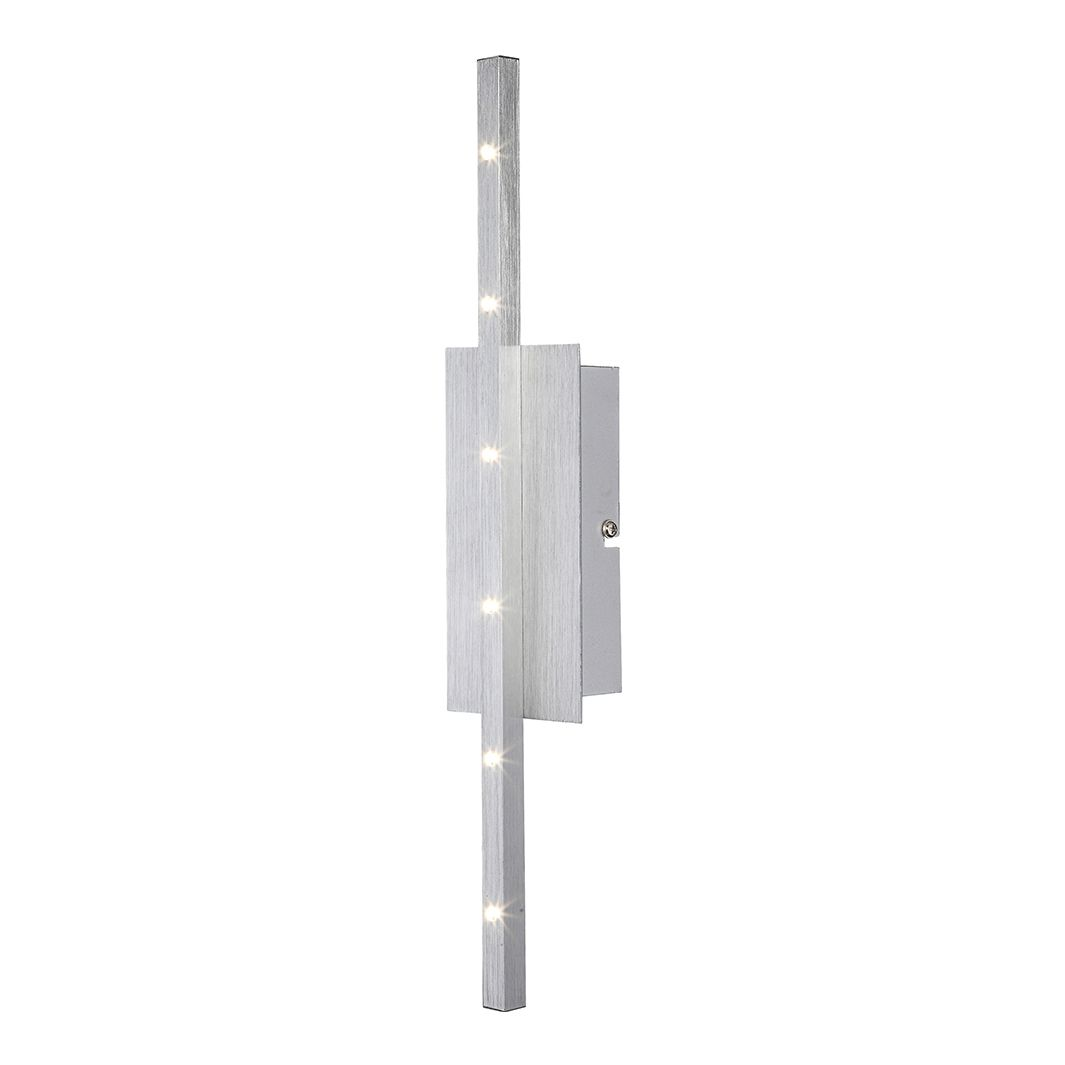 EEK A+, Wandleuchte CALIBAN – Aluminium – Silber – 6-flammig, Globo Lighting kaufen