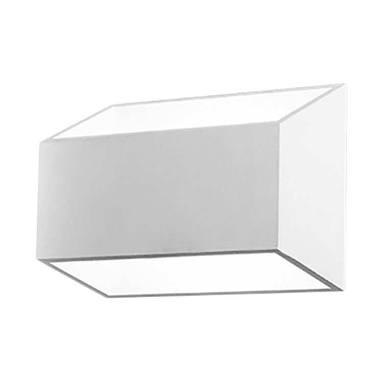 LED-Wandleuchte California ● Aluminium ● Weiß- Lampadina A+