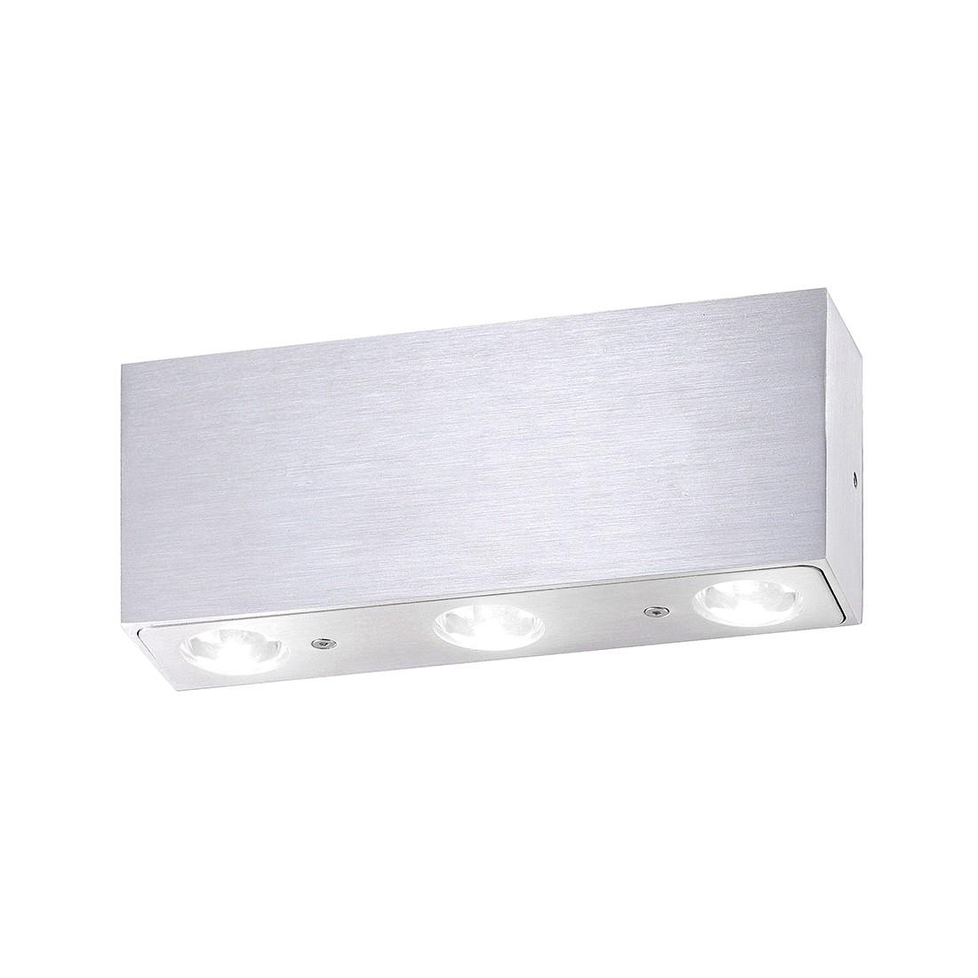 LED-Wandleuchte Cammin ● Aluminium Matt ● Silber- FLI Leuchten A+