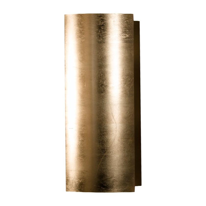 Wandleuchte Capsula 18 cm ● Metall ● Gold ● 2-flammig- Hans Kögl A