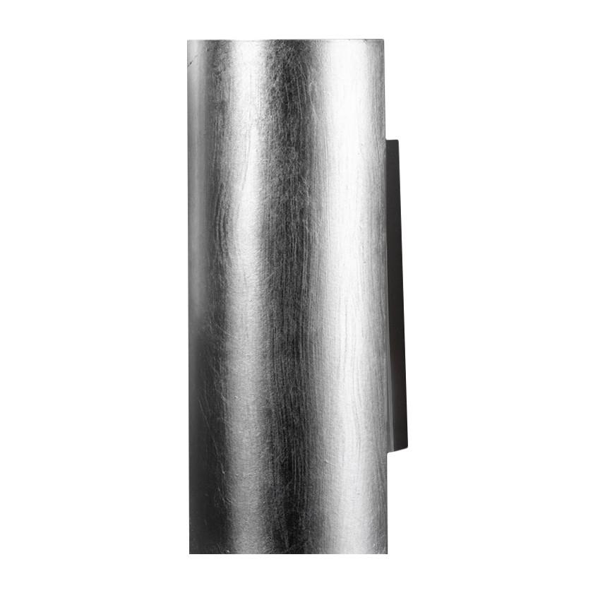 Wandleuchte Capsula 18 cm ● Metall ● Silber ● 2-flammig- Hans Kögl A