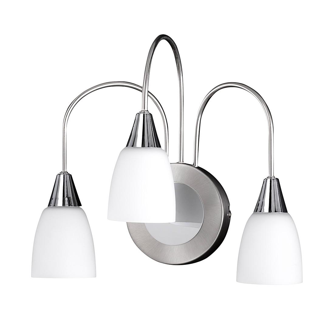 Wandleuchte CASA ● Metall/Glas ● 3-flammig- Lux A+