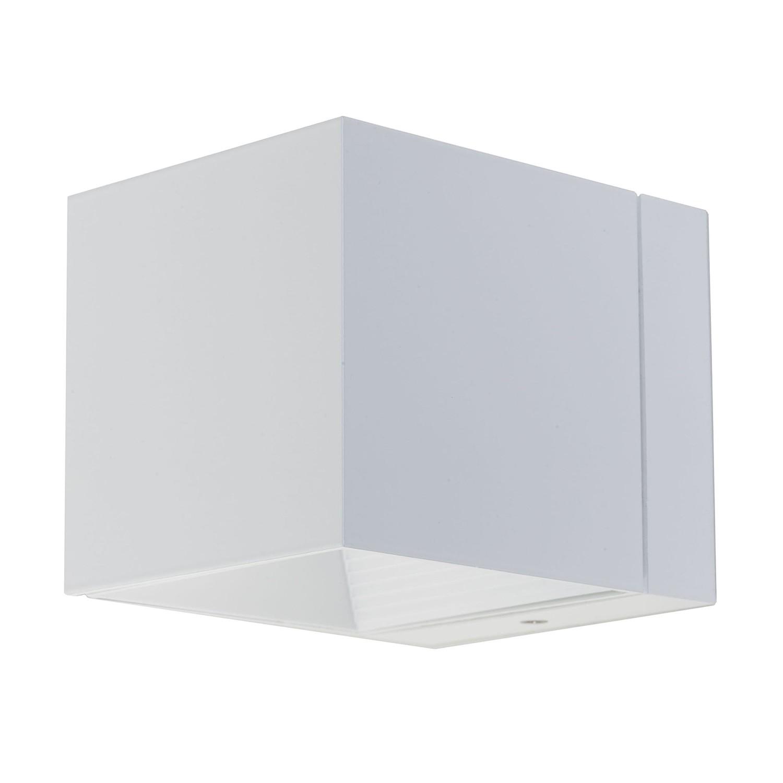 Wandleuchte Dau Mini ● Aluminium-Druckguss ● Weiß- Milan Iluminacion