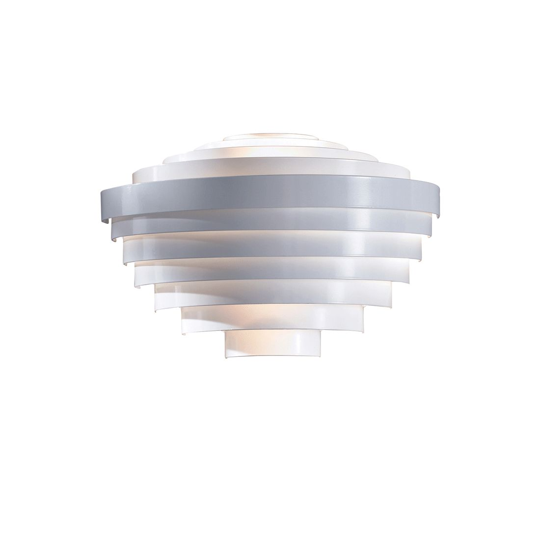 Wandleuchte Djoser - Metall - Weiss, PureDay