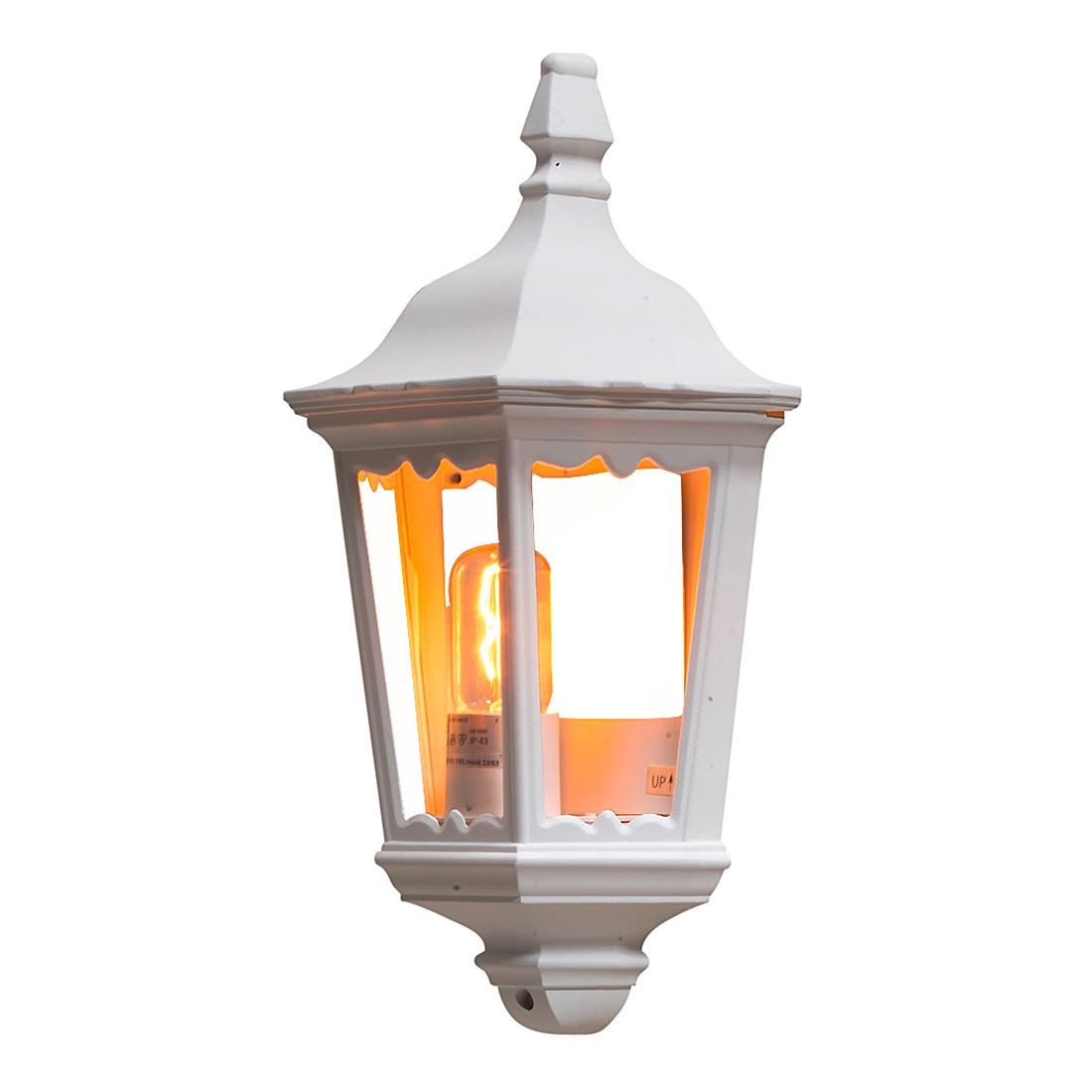 Wandleuchte Firenze ● Aluminium/Glas ● 1-flammig- Konstsmide A++