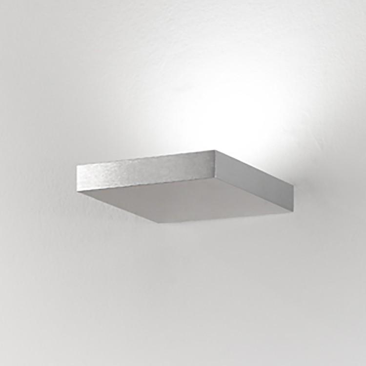 LED-Wandleuchte Georgia ● Aluminium ● Silber- Lampadina A+
