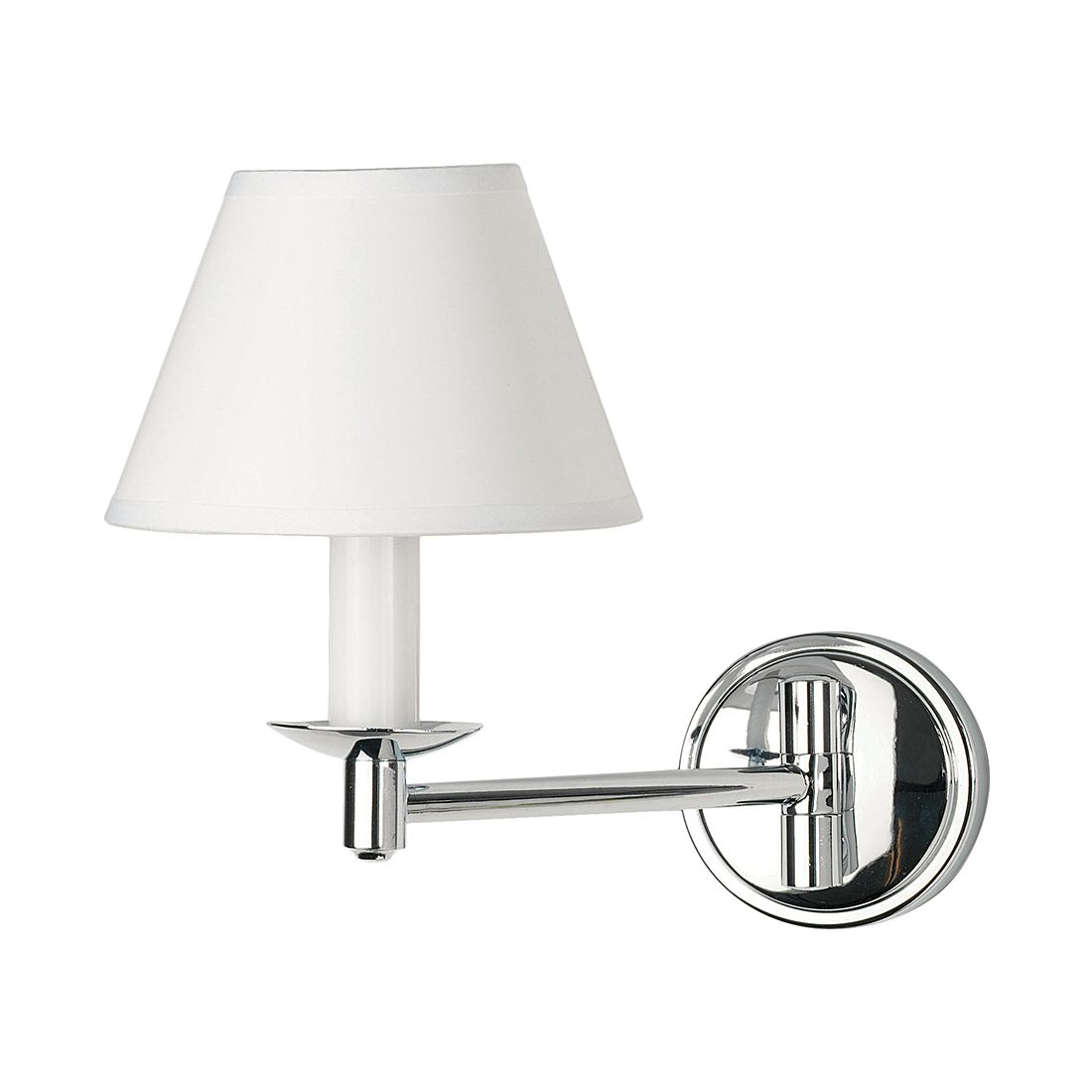 Eek a applique murale grosvenor chrome 1 ampoule - Applique murale ampoule ...