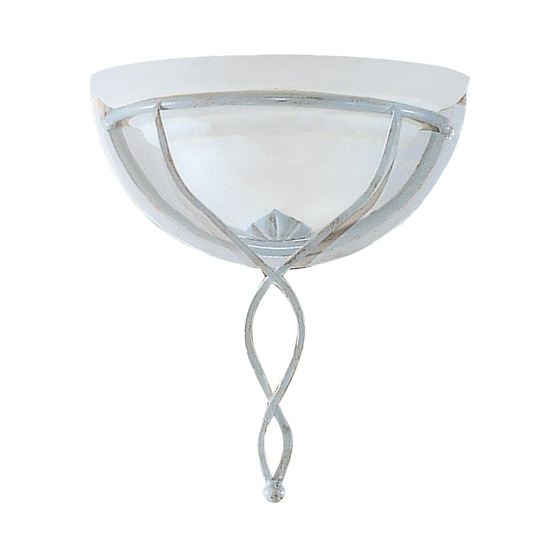wandleuchte halbschale metall glas altwei gold wei 1 flammig hans k gl a online bestellen. Black Bedroom Furniture Sets. Home Design Ideas