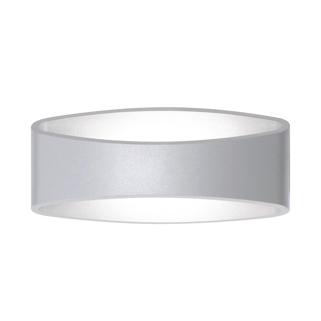 LED-Wandleuchte Holldorf ● Aluminium ● Grau- FLI Leuchten A+
