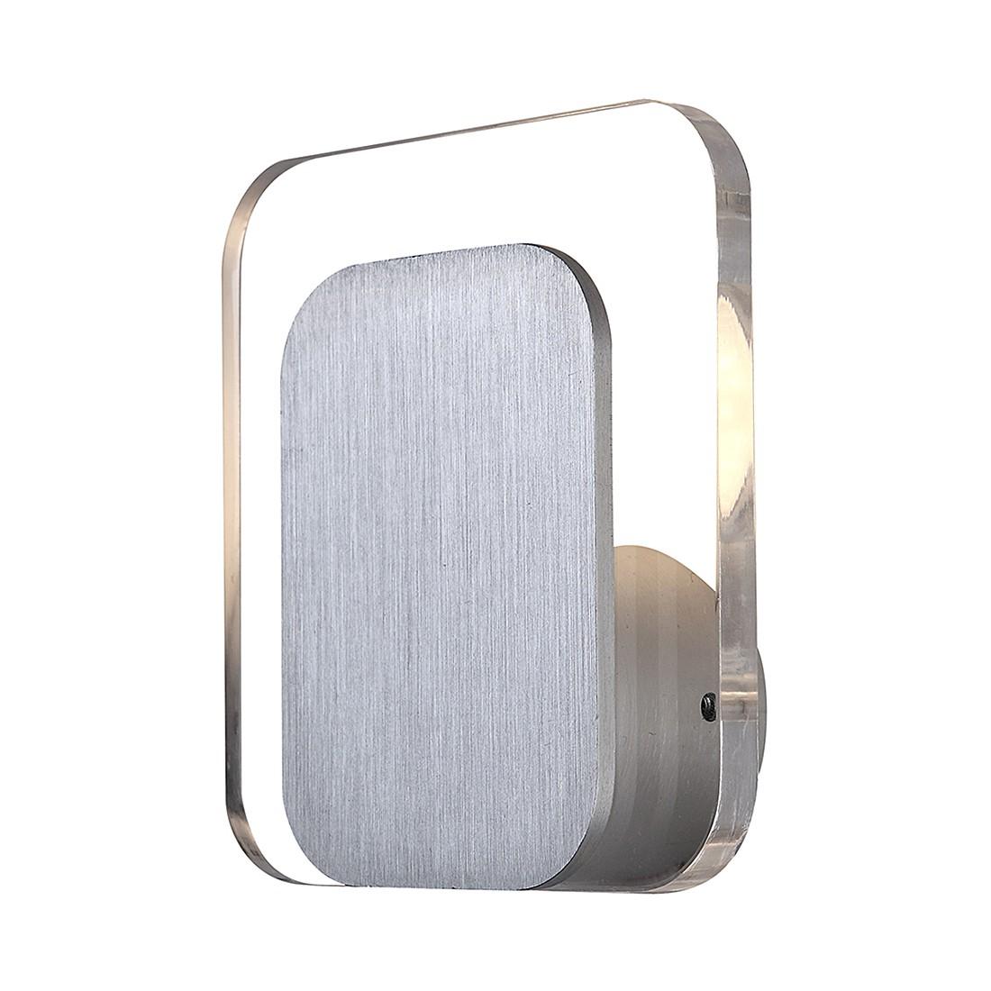 Wandleuchte ISAAC – Aluminium – Silber – 1-flammig, Globo Lighting online bestellen
