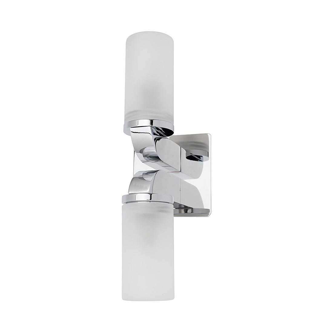 EEK A++, Wandleuchte Isar – Silber/Weiß – 2x40W, Jens Stolte Leuchten günstig