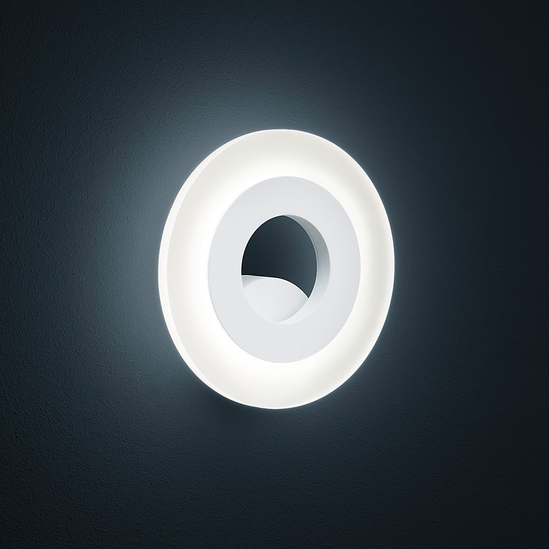 Wandleuchte JENNA ● Metall/Kunststoff ● Weiß- Helestra A+