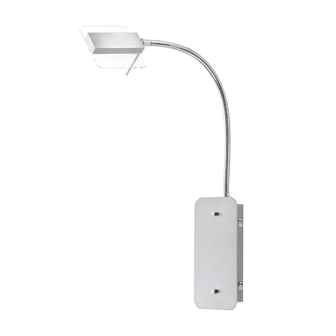 LED-Wandleuchte Kamminke ● Nickel Matt ● Silber- FLI Leuchten A+