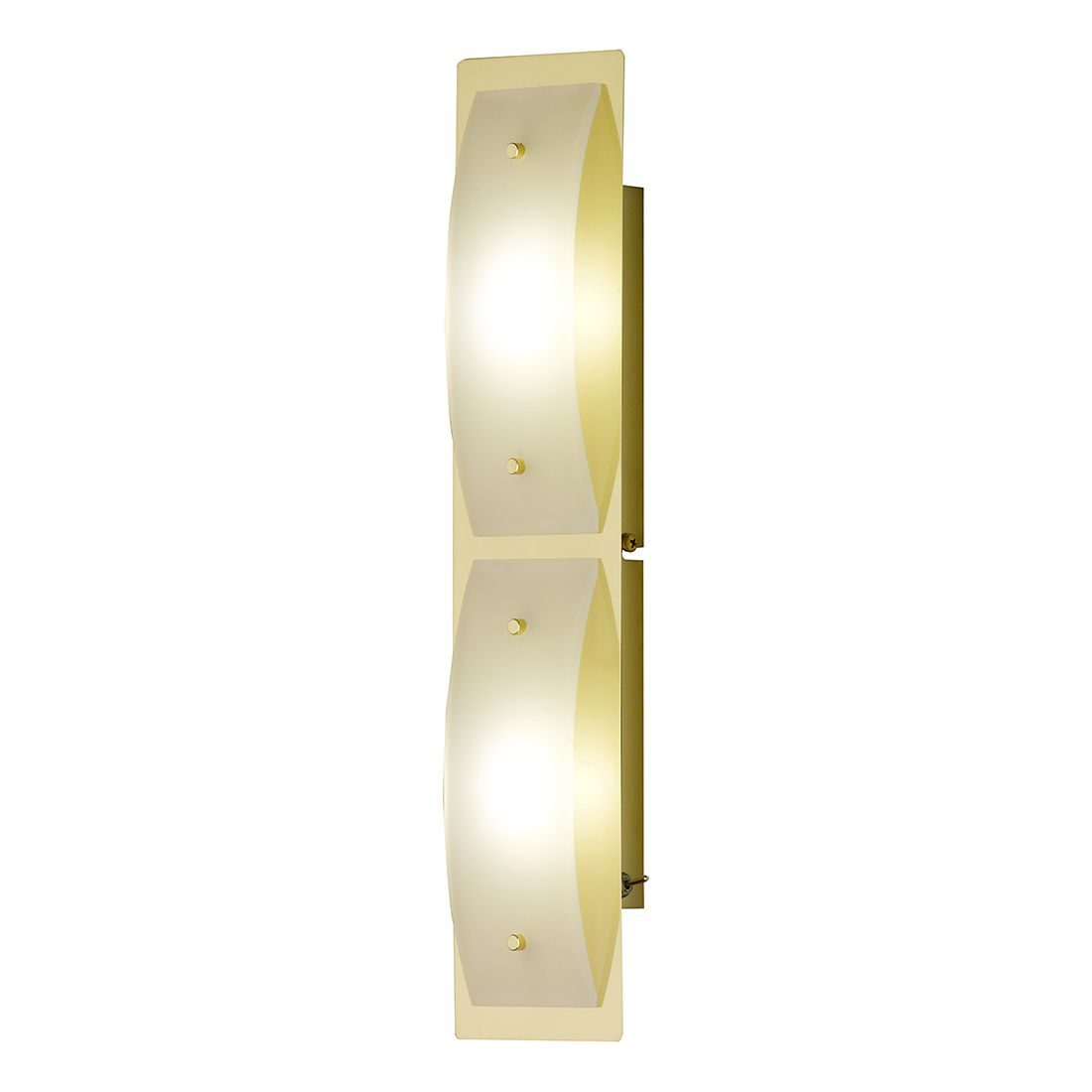 LED-Wandleuchte Liana Metall Gold ● 2-flammig- Honsel A+