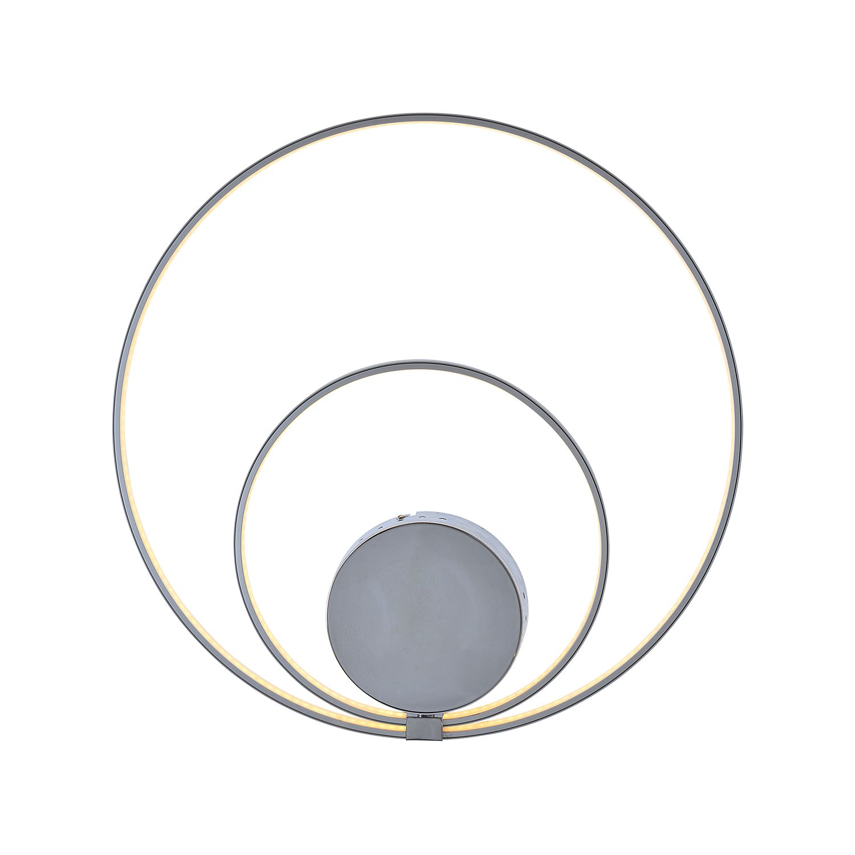 Wandleuchte Loop Line by Näve ● Metall ● Silber ● -flammig ● -flammig- Näve A+