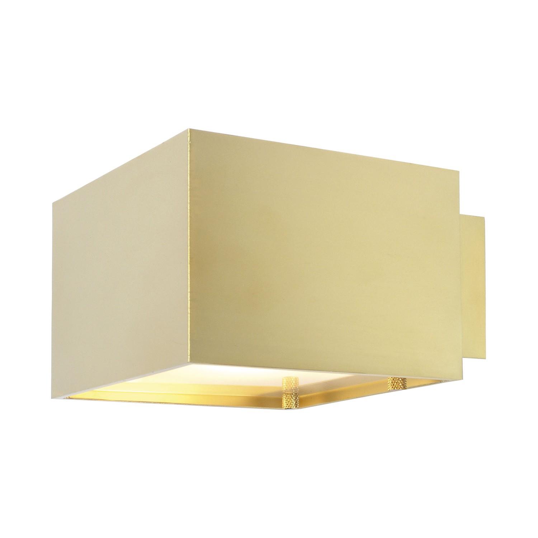 Wandleuchte LX 2 ● Aluminium ● Gold- Oligo Lichttechnik