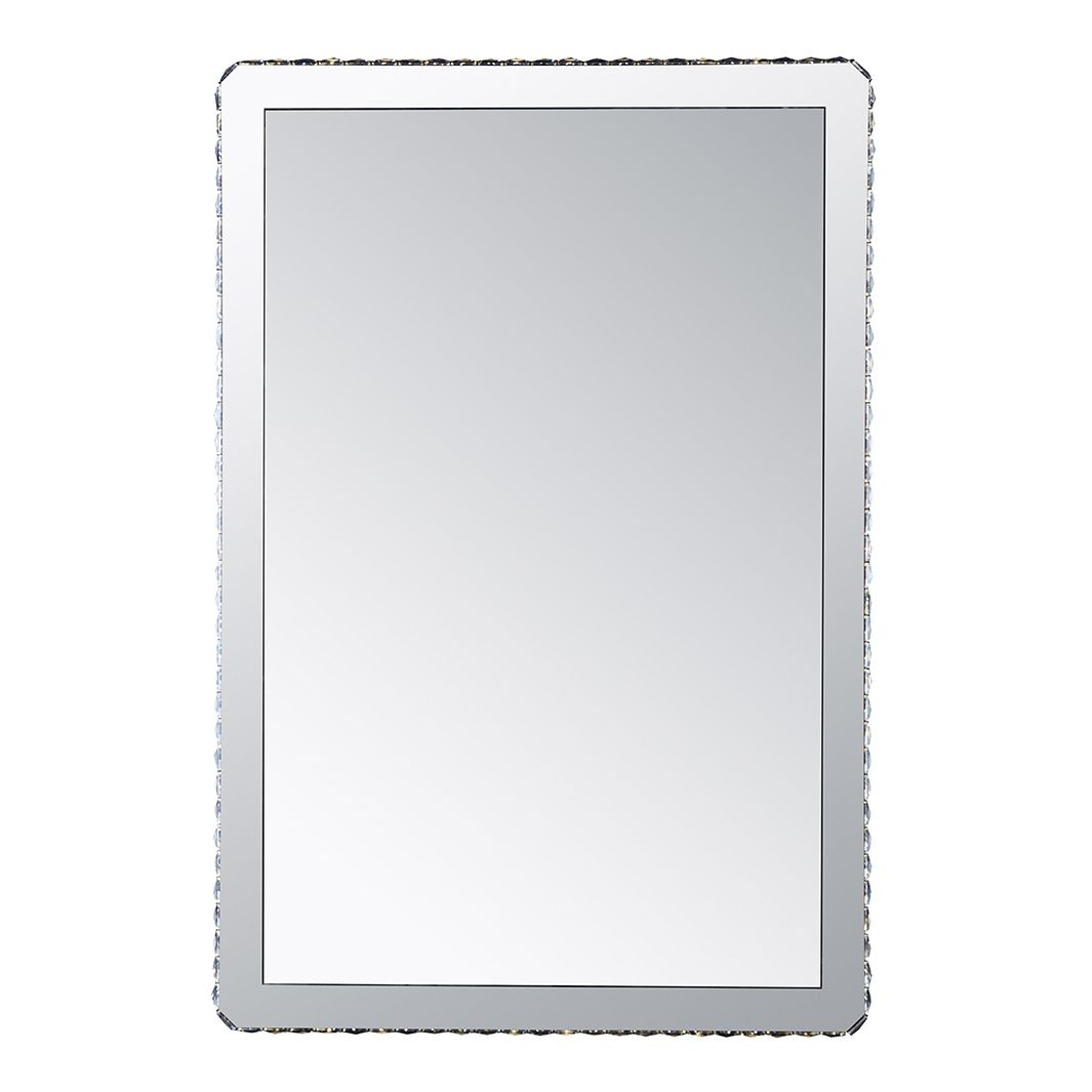 Wandleuchte MARILYN I – Metall/Glas – Silber – 1-flammig, Globo Lighting günstig bestellen