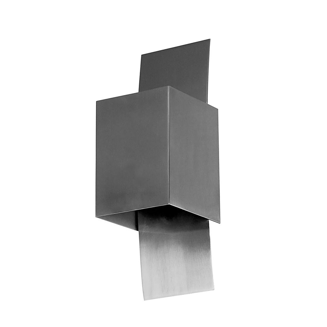 Wandleuchte Gyhum - Up-Down G9 - Aluminium Edelstahl, s`luce
