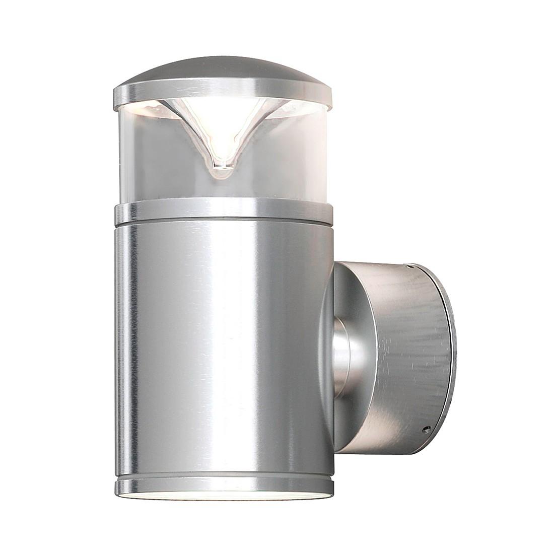 Wandleuchte Monza Up & Down ● Aluminium/Glas ● 2-flammig- Konstsmide A++