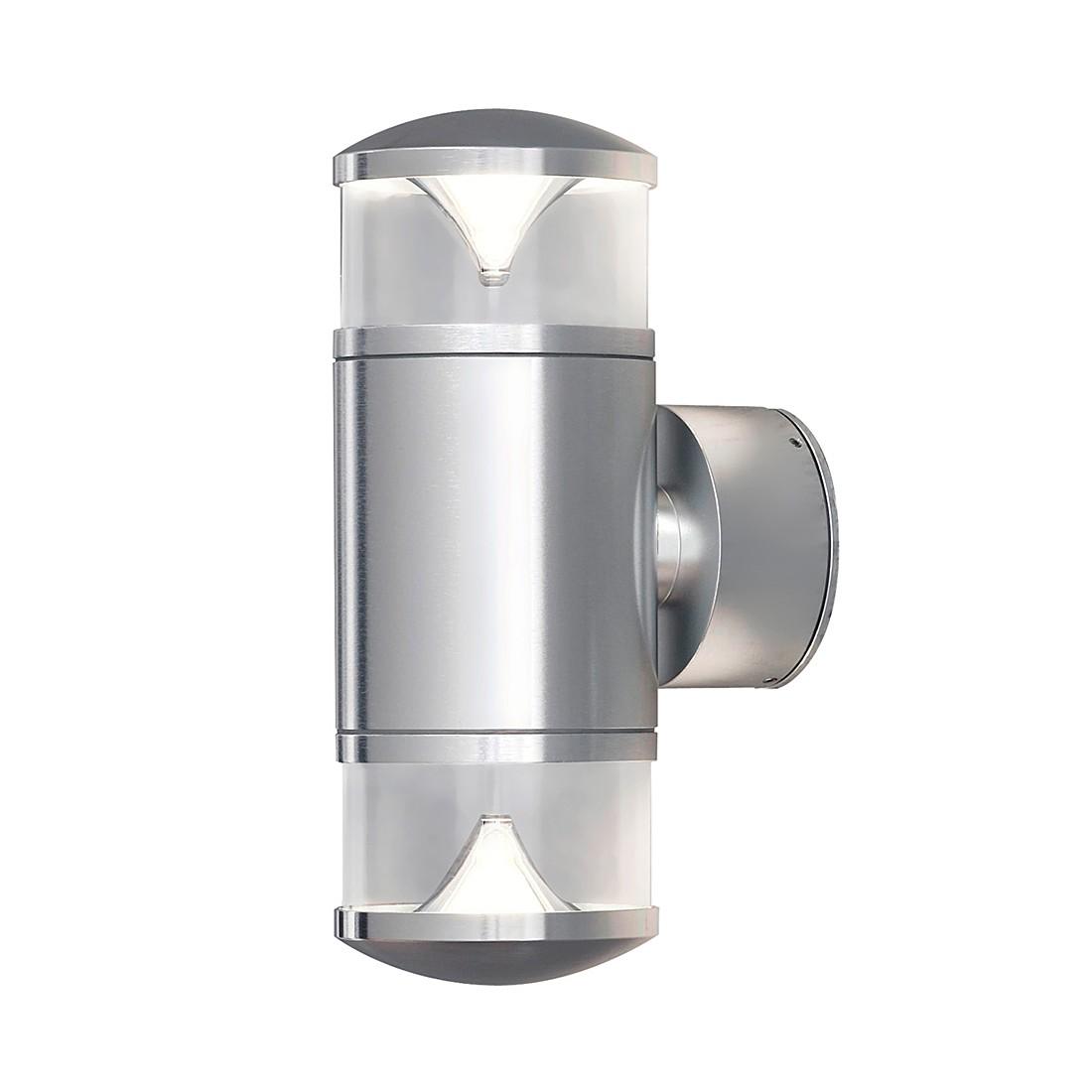 Wandleuchte Monza Up & Down - Aluminium-Glas - 2-flammig, Konstsmide