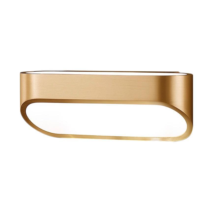 wandleuchte onno metall gold helestra a bestellen. Black Bedroom Furniture Sets. Home Design Ideas