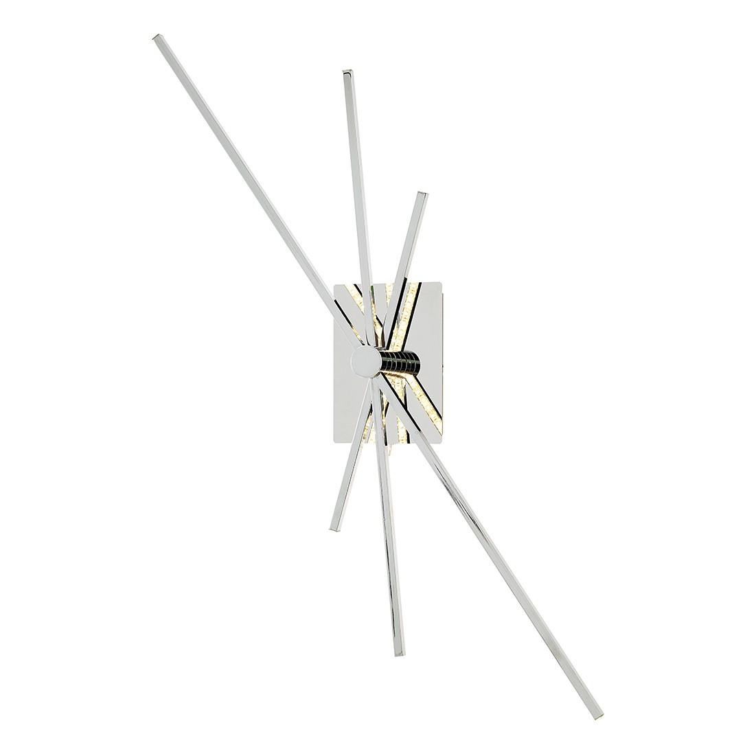 EEK A+, Wandleuchte ORBIT – Metall – Silber – 3-flammig, Wofi bestellen