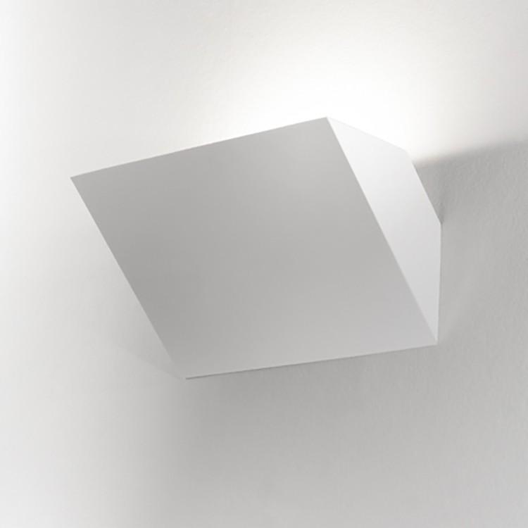 LED-Wandleuchte Oregon ● Aluminium ● Weiß- Lampadina A+