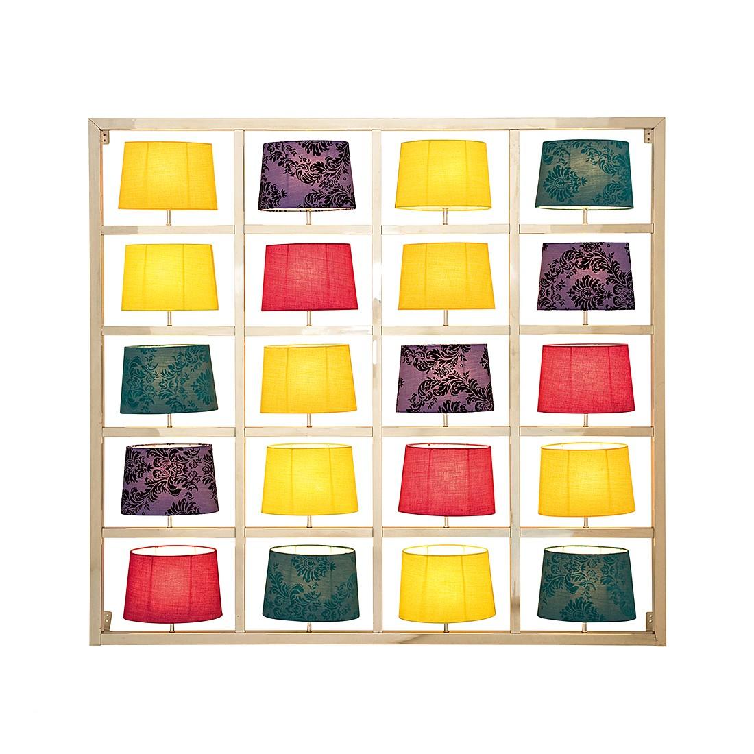 Wandleuchte Parecchi Big - Mehrfarbig-Chrom, Kare Design