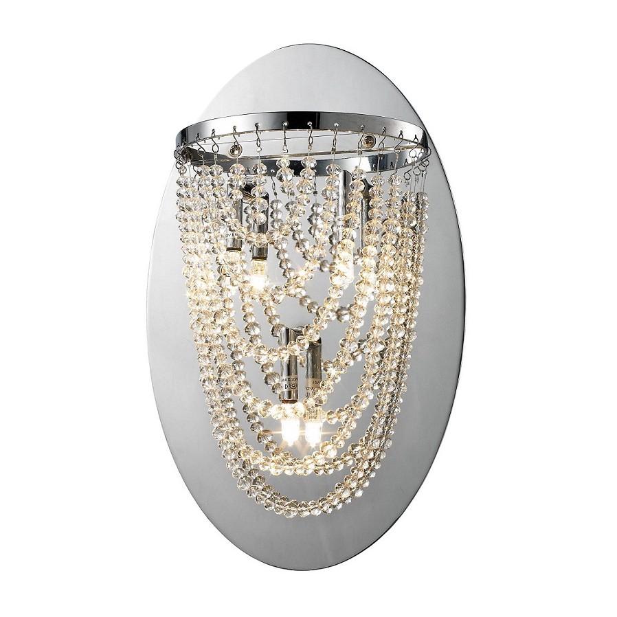 Wandleuchte Perla Metall & Glas ● 3-flammig- Sorpetaler A++