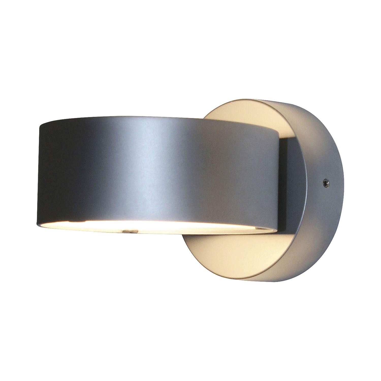 wandleuchte puk wall zinkdruckguss chrom matt top light bestellen. Black Bedroom Furniture Sets. Home Design Ideas
