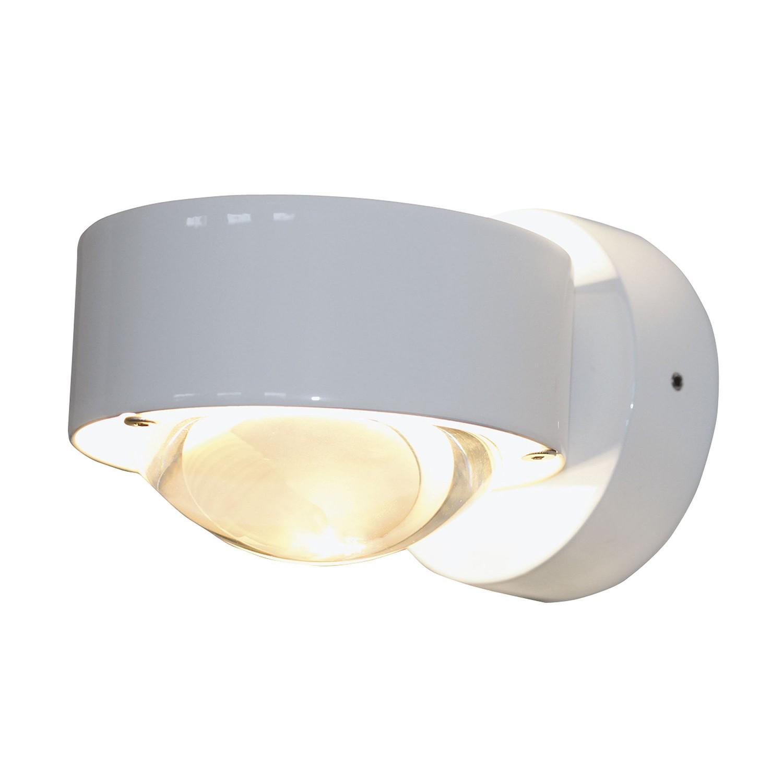 wandleuchte puk wall zinkdruckguss wei top light g nstig bestellen. Black Bedroom Furniture Sets. Home Design Ideas