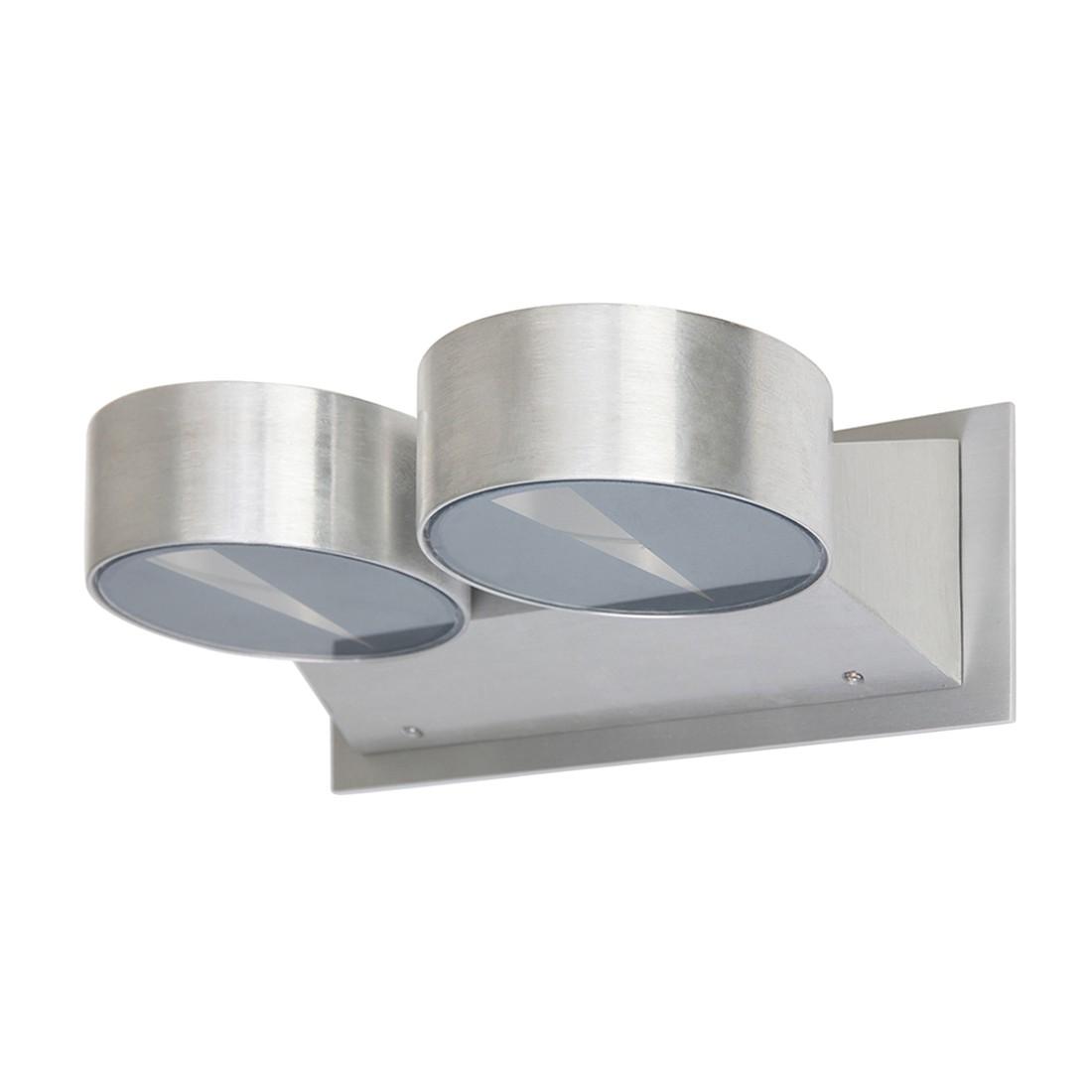 LED-Wandleuchte Rajka 2-flammig ● Nickel matt- Steinhauer A+