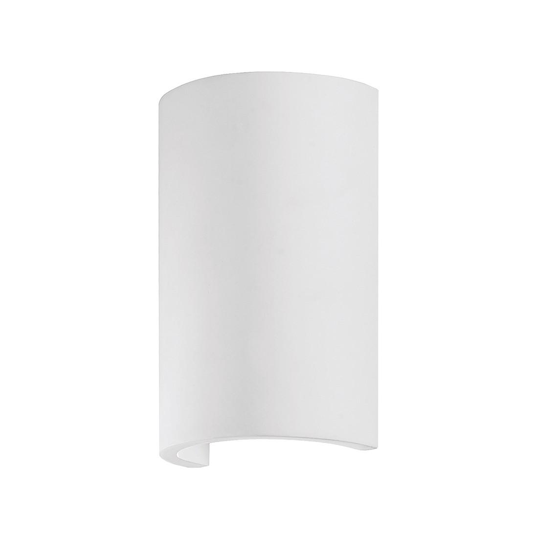 LED-Wandleuchte Rappin ● Weiß ● Stein/Gips- FLI Leuchten A+