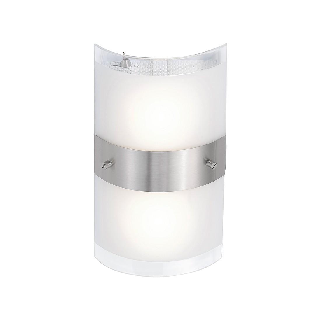 LED-Wandleuchte Saalow ● Nickel Matt ● Silber- FLI Leuchten A+